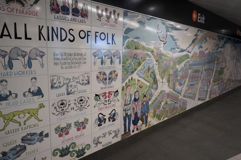 Alasdair gray s hillhead mural for Alasdair gray hillhead mural